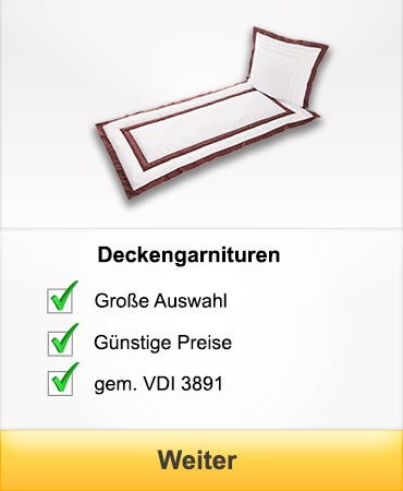 Deckengarnituren