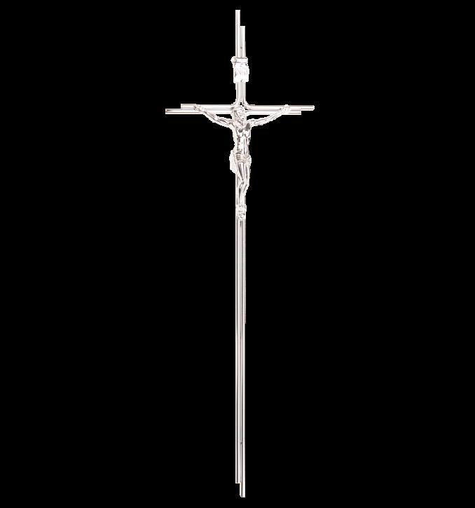 SK 23 Metallkreuz mit Korpus (Chrom)