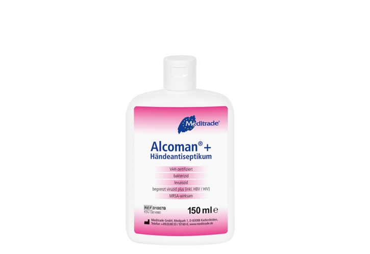 Handdesinfektion Alcoman 150 ml