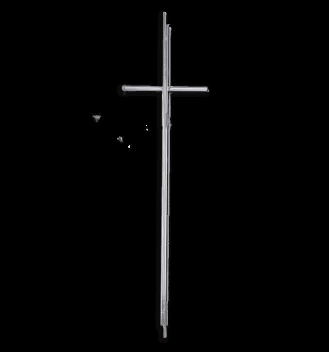 SK 13 Metallkreuz ohne Korpus (Zinn)